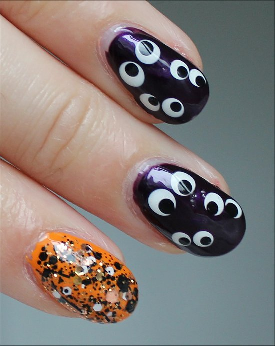 Hallowe'en Nail Art Nails