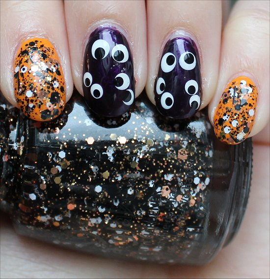 Halloween Nail Art Nails