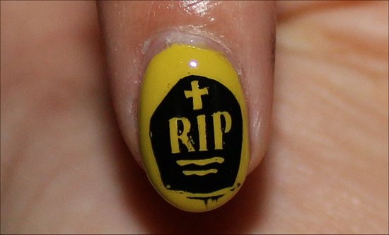 Hallowe'en Nails Nail Art Manicure