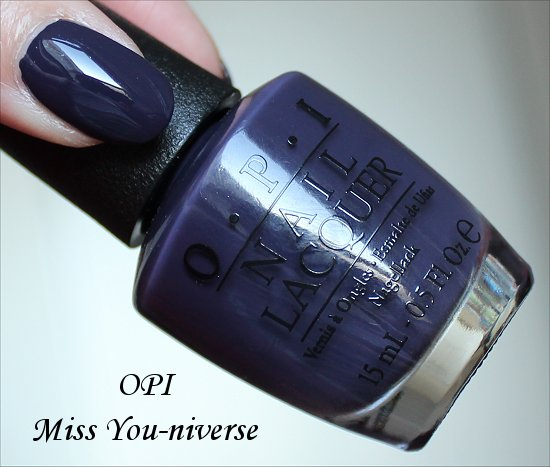 Miss You-niverse OPI Miss Universe Collection Swatches
