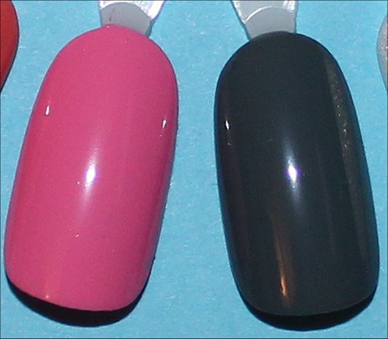 Nicole by OPI Carnival Cotton Candy Swatch & Goodbye Shoes Swatch