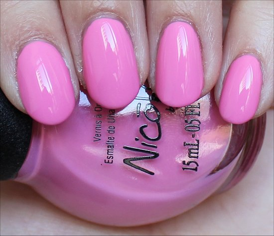 Nicole by OPI Carnival Cotton Candy Swatches Carrie Underwood Collection