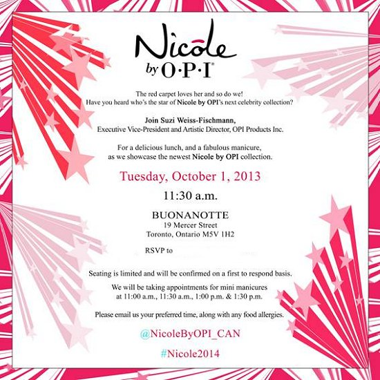 Nicole by OPI Carrie Underwood Invitation