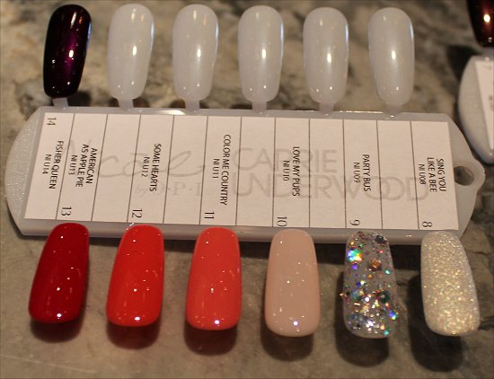Nicole by OPI Carrie Underwood Swatches 2
