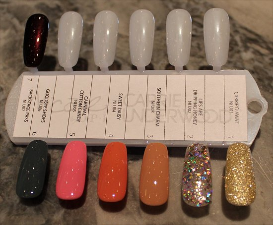 Nicole by OPI Carrie Underwood Swatches