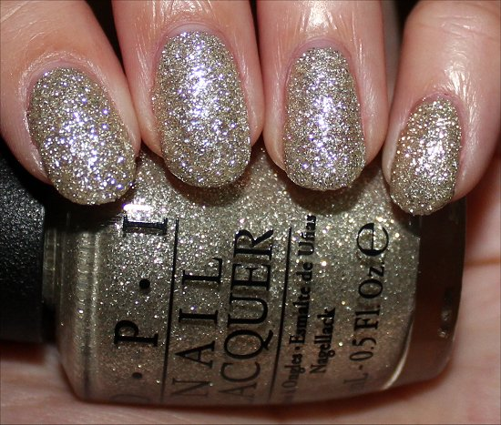 OPI My Favorite Ornament Swatch Mariah Carey Holiday Swatches