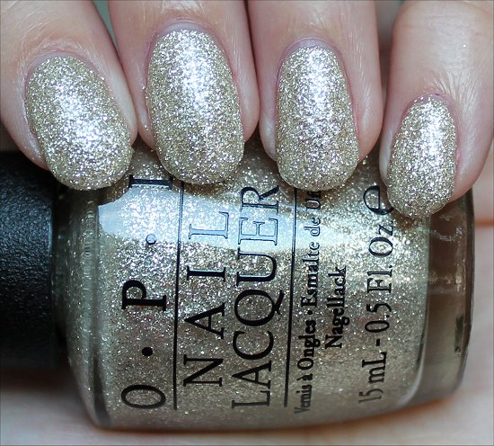 OPI My Favorite Ornament Swatch & Review
