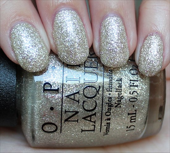 OPI My Favorite Ornament Swatch