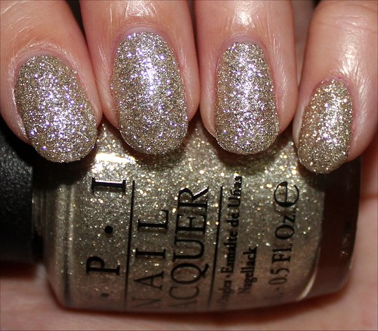 OPI My Favorite Ornament Swatches Mariah Carey Holiday Swatch