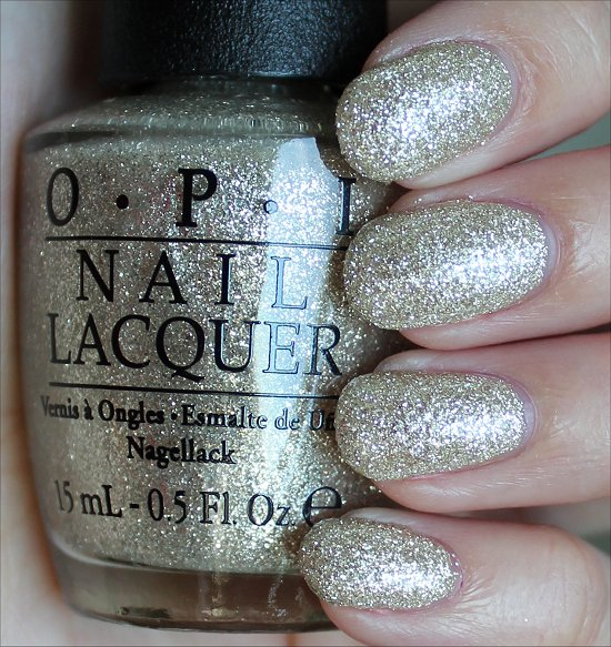 OPI My Favorite Ornament Swatches & Review