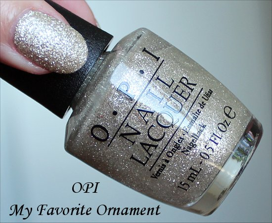 OPI My Favorite Ornament