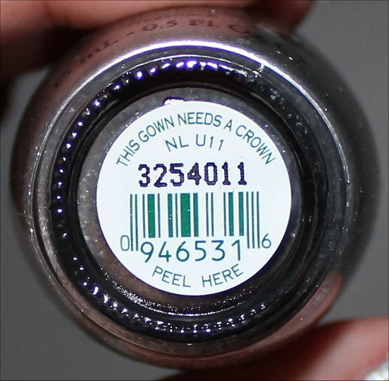 OPI This Gown Needs a Crown Miss Universe 2013 Collection