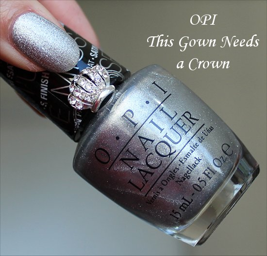 OPI This Gown Needs a Crown Photos