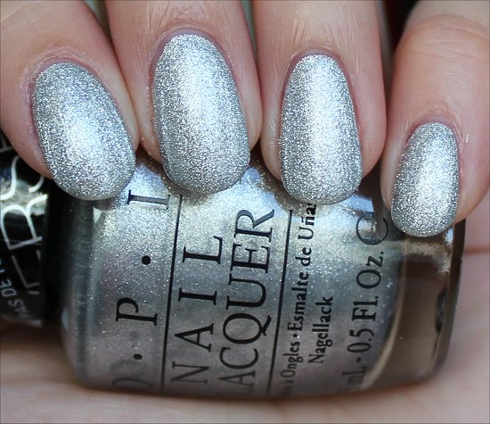 OPI This Gown Needs a Crown Swatch & Review