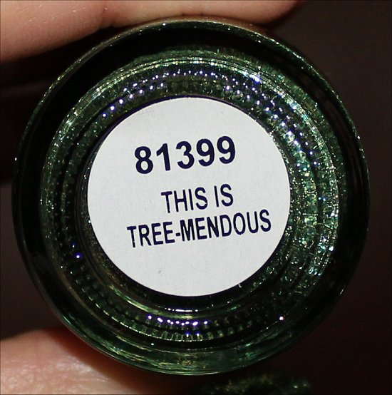 China Glaze Happy HoliGlaze Collection This Is Tree-mendous