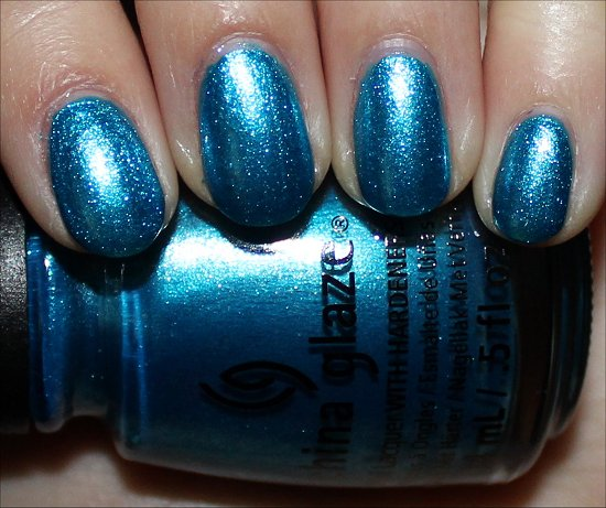 china glaze so blue without you swatches amp review swatch