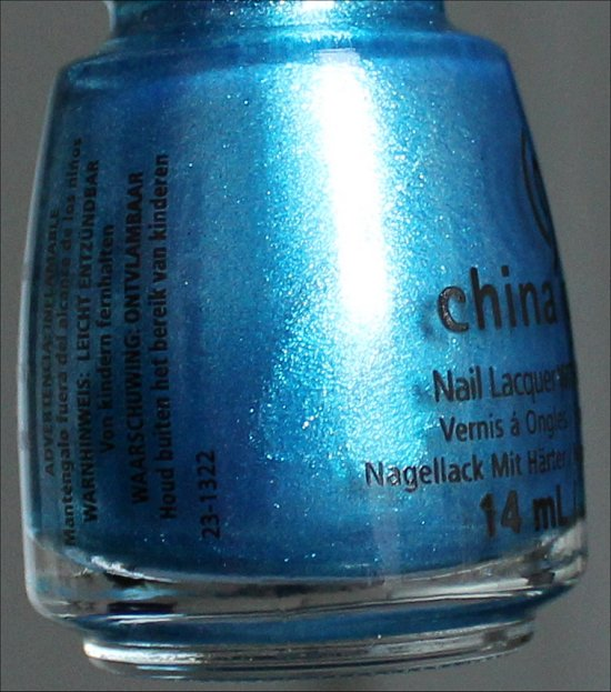 China Glaze So Blue Without You Review & Swatch