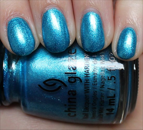 China Glaze So Blue Without You Swatch & Review
