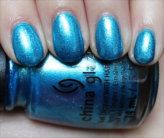 China Glaze So Blue Without You Swatch