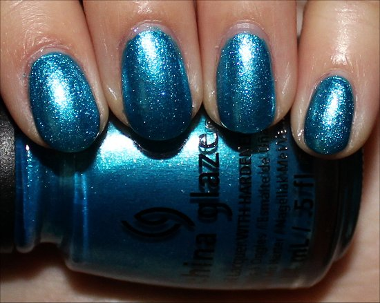 China Glaze So Blue Without You Swatches & Pictures