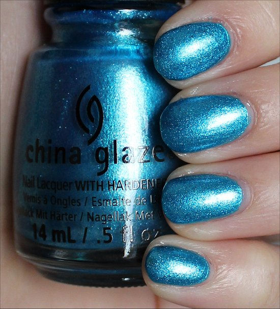 China Glaze So Blue Without You Swatches & Review