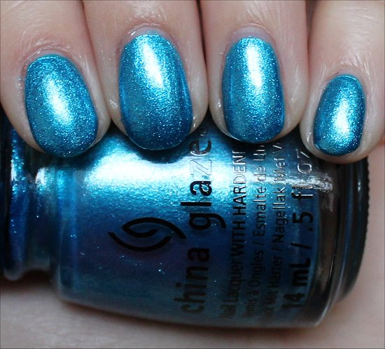 China Glaze So Blue Without You Swatches