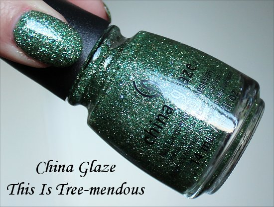 China Glaze This Is Tree-mendous Happy HoliGlaze Collection