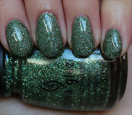 China Glaze This Is Tree-mendous Review & Swatch