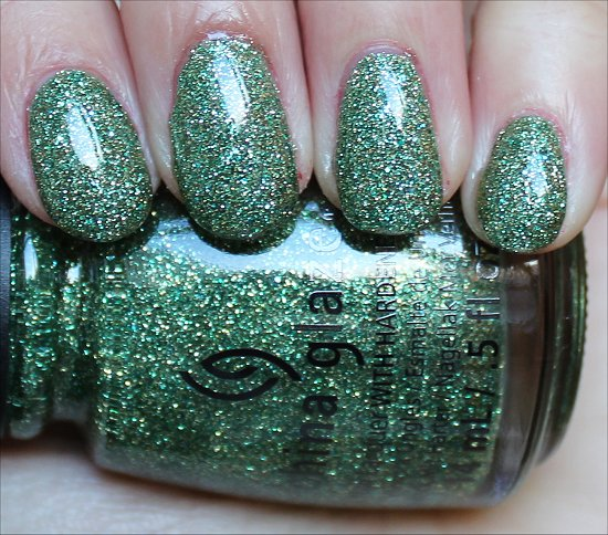 China Glaze This Is Tree-mendous Swatch & Review