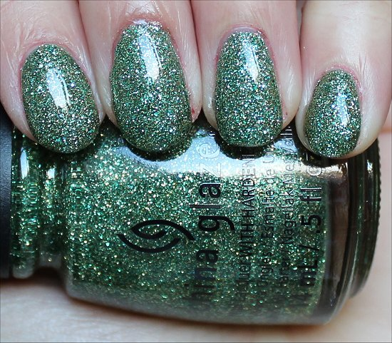 China Glaze This Is Tree-mendous Swatch