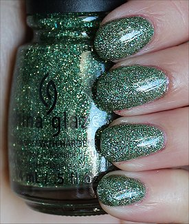 China Glaze This Is Tree-mendous Swatches & Review