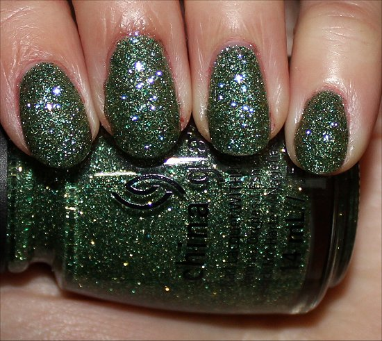 Happy HoliGlaze China Glaze This Is Tree-mendous