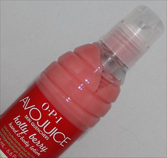 OPI Avojuice Holly Berry Hand & Body Lotion Review