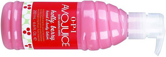OPI Avojuice Holly Berry Hand & Body Lotion