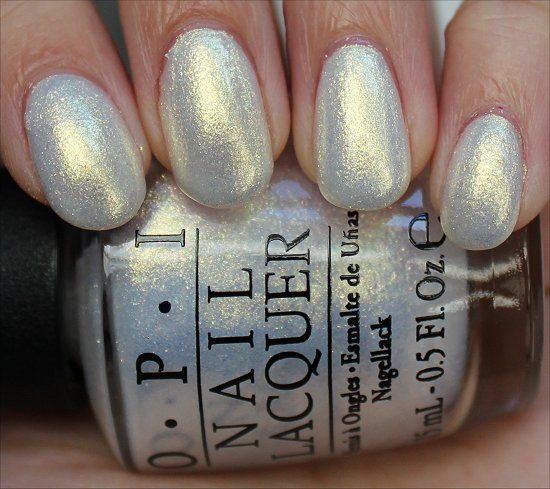 OPI Ski Slope Sweetie Review & Swatches