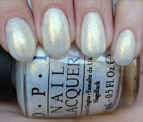 OPI Ski Slope Sweetie Swatch & Review