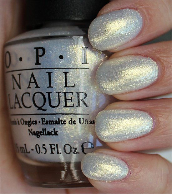 OPI Ski Slope Sweetie Swatches & Review