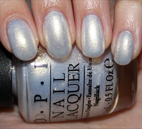 OPI Ski Slope Sweetie Swatches