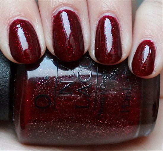 OPI Underneath the Mistletoe Review & Swatch