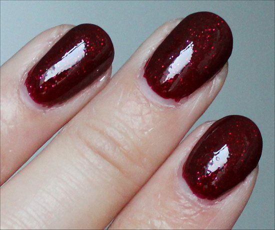 OPI Underneath the Mistletoe Review & Swatches