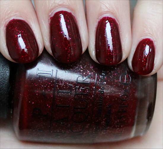 OPI Underneath the Mistletoe Swatch & Review