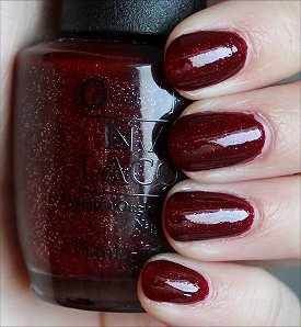 OPI Underneath the Mistletoe Swatches & Review
