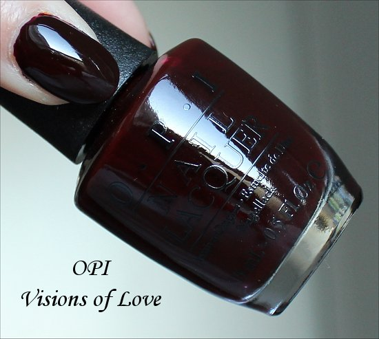 OPI Visions of Love Swatch & Photos