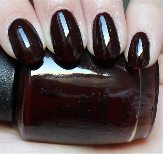 OPI Visions of Love Swatch & Review