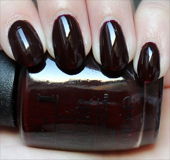 OPI Visions of Love Swatch