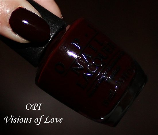 OPI visions of Love Swatches & Photos