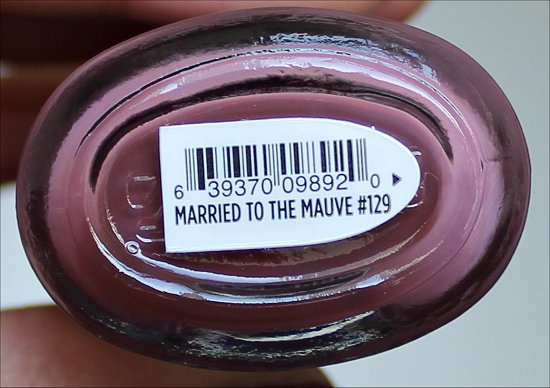 CND Vinylux Married to the Mauve Pictures