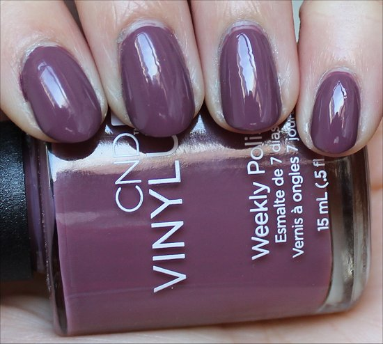 CND Vinylux Married to the Mauve Review & Swatch