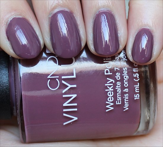 CND Vinylux Married to the Mauve Review & Swatches