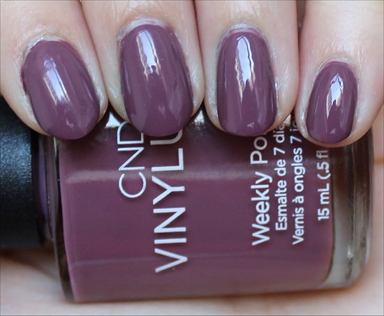 CND Vinylux Married to the Mauve Swatch & Review